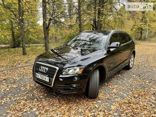 Черный Ауди Ку 5, объемом двигателя 2 л и пробегом 163 тыс. км за 13200 $, фото 1 на Automoto.ua