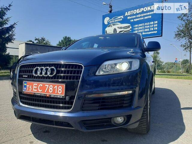 Синій Ауді Ку 7, об'ємом двигуна 3 л та пробігом 269 тис. км за 16299 $, фото 1 на Automoto.ua