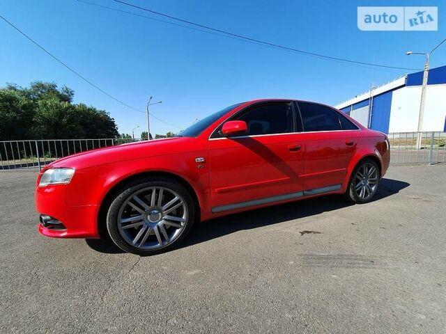 Красный Ауди С4, объемом двигателя 4.2 л и пробегом 115 тыс. км за 18000 $, фото 1 на Automoto.ua