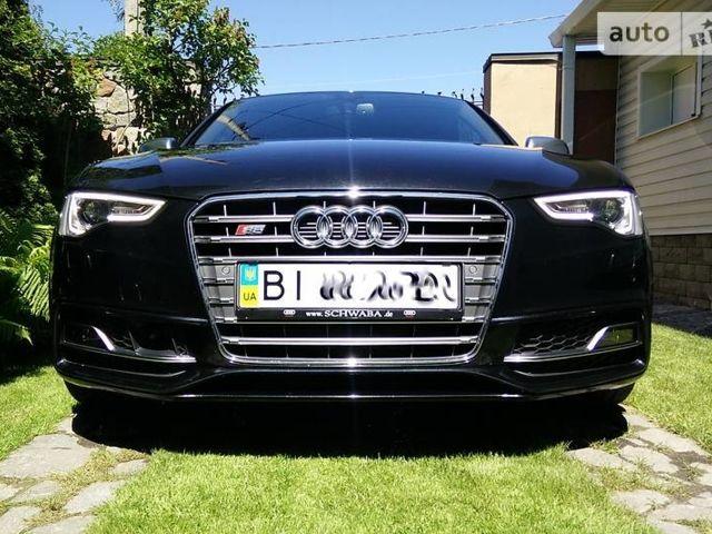 Чорний Ауді S5, об'ємом двигуна 3 л та пробігом 28 тис. км за 34000 $, фото 1 на Automoto.ua