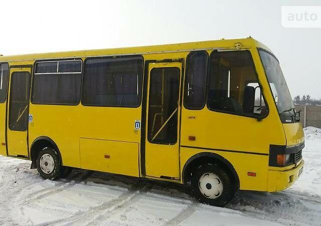 Желтый БАЗ А 079 Эталон, объемом двигателя 5.6 л и пробегом 200 тыс. км за 8100 $, фото 1 на Automoto.ua