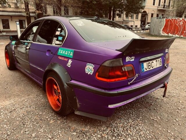 Фіолетовий БМВ 3 Серія, об'ємом двигуна 3 л та пробігом 300 тис. км за 4000 $, фото 1 на Automoto.ua