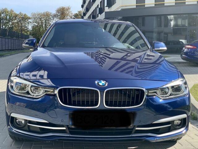 Синий БМВ 3 Серия, объемом двигателя 2 л и пробегом 34 тыс. км за 25900 $, фото 1 на Automoto.ua