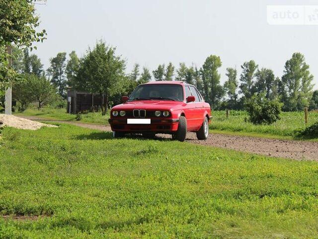 Красный БМВ 316, объемом двигателя 1.6 л и пробегом 320 тыс. км за 2800 $, фото 1 на Automoto.ua