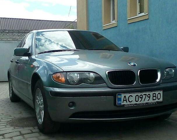 Серый БМВ 316, объемом двигателя 1.8 л и пробегом 116 тыс. км за 8400 $, фото 1 на Automoto.ua