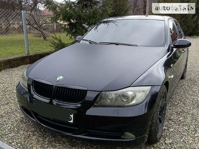 Черный БМВ 320, объемом двигателя 2 л и пробегом 270 тыс. км за 8000 $, фото 1 на Automoto.ua