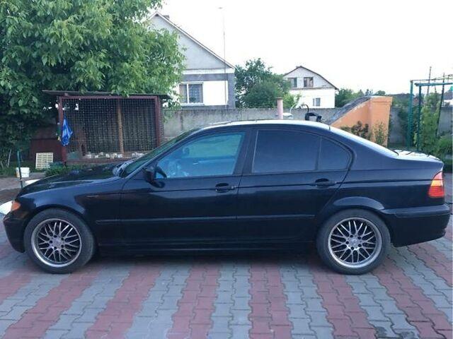 Черный БМВ 320, объемом двигателя 2 л и пробегом 248 тыс. км за 4100 $, фото 1 на Automoto.ua