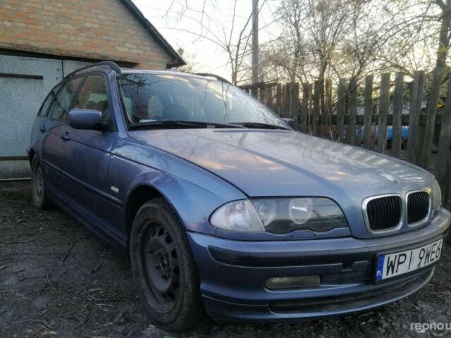 Синий БМВ 320, объемом двигателя 2 л и пробегом 355 тыс. км за 2100 $, фото 1 на Automoto.ua