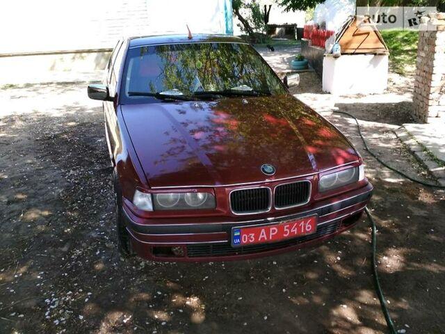 Червоний БМВ 325, об'ємом двигуна 2.5 л та пробігом 300 тис. км за 3600 $, фото 1 на Automoto.ua