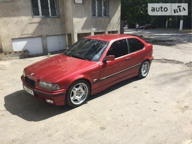 Червоний БМВ 325, об'ємом двигуна 2.5 л та пробігом 223 тис. км за 5300 $, фото 1 на Automoto.ua
