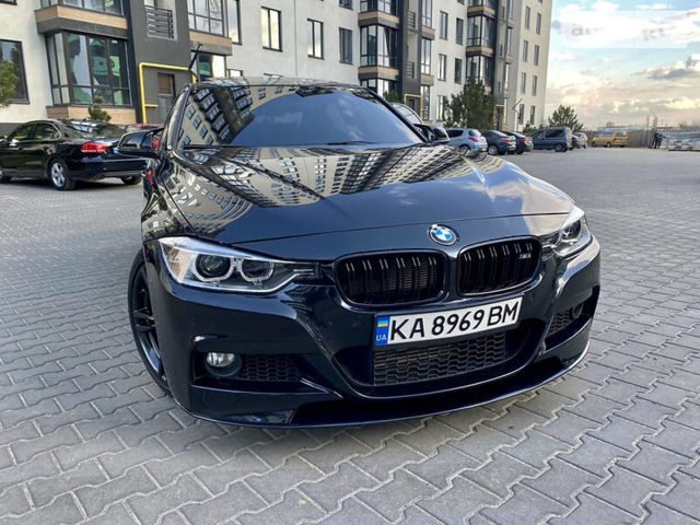 Черный БМВ 328, объемом двигателя 2 л и пробегом 107 тыс. км за 22000 $, фото 1 на Automoto.ua