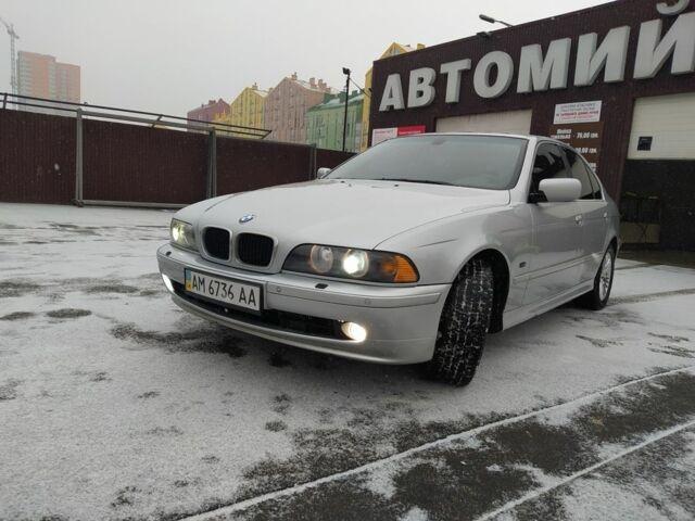 Серый БМВ 5 Серия, объемом двигателя 2.5 л и пробегом 370 тыс. км за 5450 $, фото 1 на Automoto.ua
