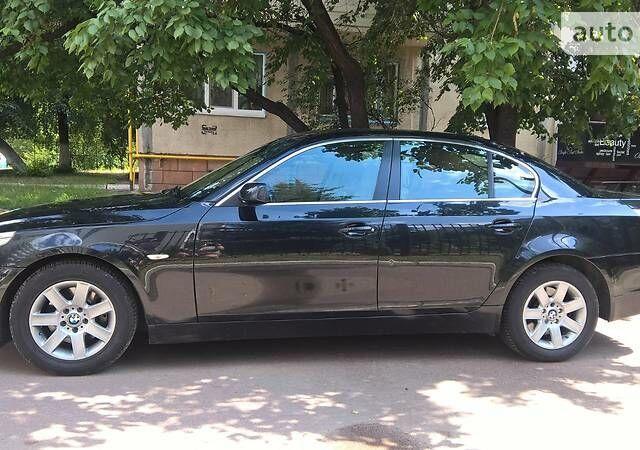 Черный БМВ 520, объемом двигателя 2.2 л и пробегом 230 тыс. км за 10000 $, фото 1 на Automoto.ua