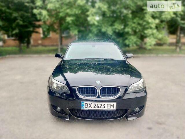 Черный БМВ 520, объемом двигателя 2.2 л и пробегом 200 тыс. км за 9000 $, фото 1 на Automoto.ua