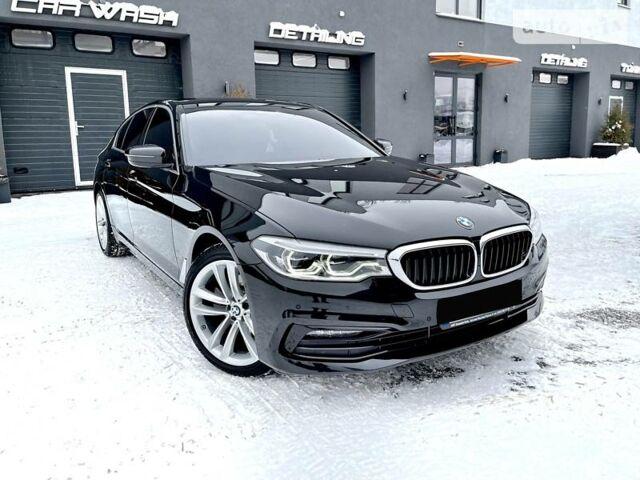 Черный БМВ 520, об'ємом двигуна 2 л та пробігом 11 тис. км за 59900 $, фото 1 на Automoto.ua