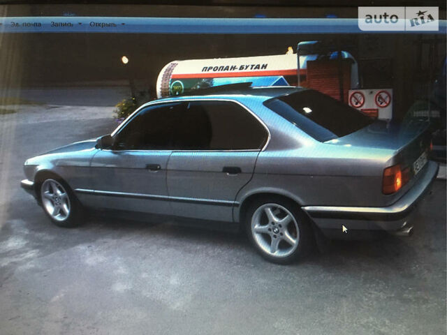 Срібний БМВ 525, об'ємом двигуна 2.5 л та пробігом 1 тис. км за 5500 $, фото 1 на Automoto.ua