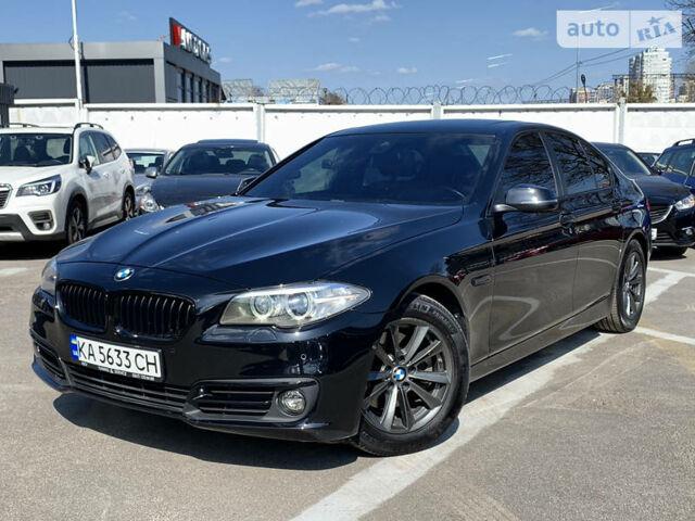 Черный БМВ 528, объемом двигателя 2 л и пробегом 80 тыс. км за 24500 $, фото 1 на Automoto.ua