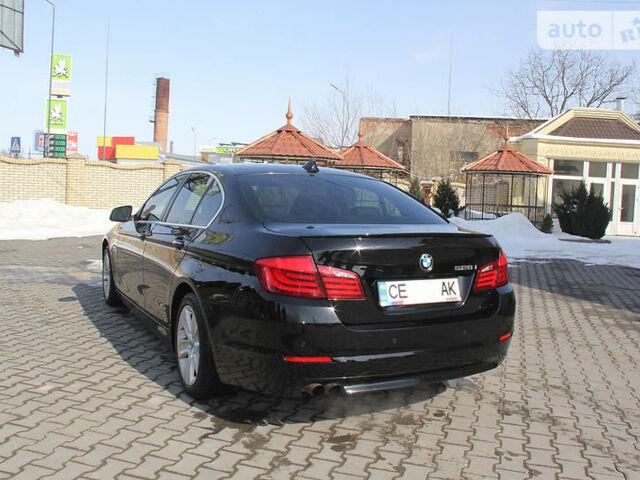 Чорний БМВ 528, об'ємом двигуна 2 л та пробігом 72 тис. км за 24300 $, фото 1 на Automoto.ua
