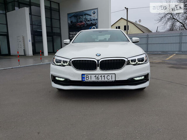 Білий БМВ 530, об'ємом двигуна 2 л та пробігом 1 тис. км за 60179 $, фото 1 на Automoto.ua