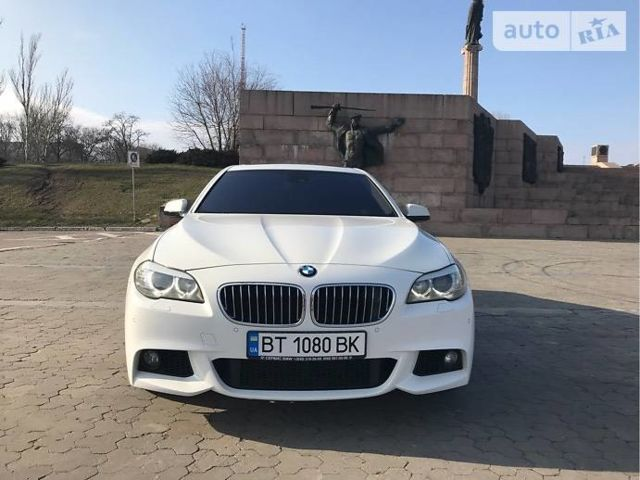 Білий БМВ 535, об'ємом двигуна 3 л та пробігом 72 тис. км за 31000 $, фото 1 на Automoto.ua