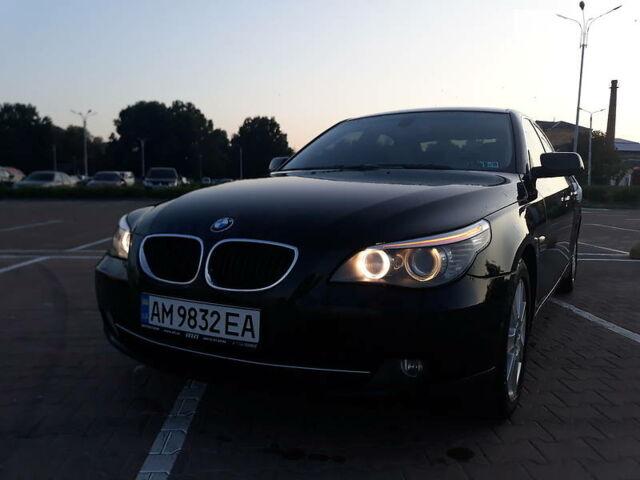 Черный БМВ 535, объемом двигателя 3 л и пробегом 224 тыс. км за 10600 $, фото 1 на Automoto.ua