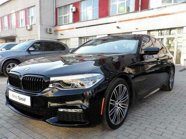 Черный БМВ 540, объемом двигателя 3 л и пробегом 26 тыс. км за 49900 $, фото 1 на Automoto.ua