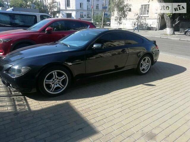 Черный БМВ 630, объемом двигателя 3 л и пробегом 186 тыс. км за 12500 $, фото 1 на Automoto.ua