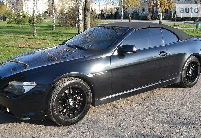 Черный БМВ 645, объемом двигателя 4.5 л и пробегом 201 тыс. км за 15300 $, фото 1 на Automoto.ua