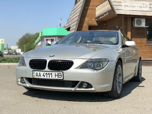 Серый БМВ 645, объемом двигателя 4.4 л и пробегом 160 тыс. км за 14500 $, фото 1 на Automoto.ua