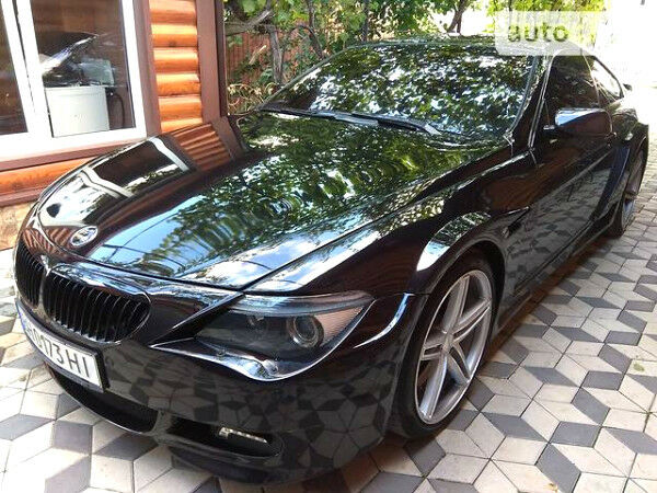 Черный БМВ 650, объемом двигателя 4.8 л и пробегом 105 тыс. км за 25000 $, фото 1 на Automoto.ua
