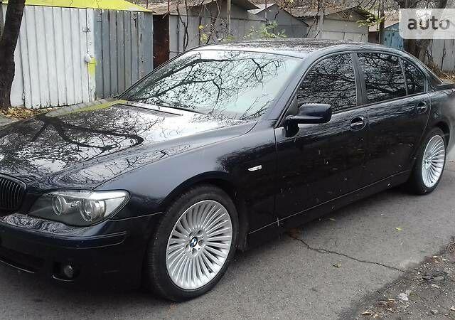 Чорний БМВ 750, об'ємом двигуна 4.8 л та пробігом 193 тис. км за 17000 $, фото 1 на Automoto.ua