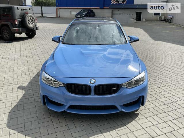 Синий БМВ М3, объемом двигателя 3 л и пробегом 46 тыс. км за 56500 $, фото 1 на Automoto.ua
