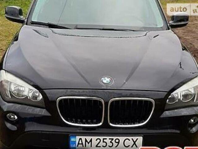 Черный БМВ Х1, объемом двигателя 2 л и пробегом 225 тыс. км за 12650 $, фото 1 на Automoto.ua