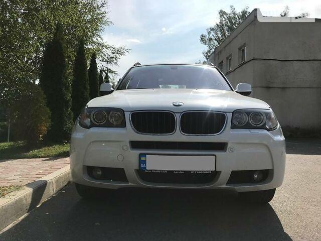 Белый БМВ Х3, объемом двигателя 2 л и пробегом 270 тыс. км за 18500 $, фото 1 на Automoto.ua