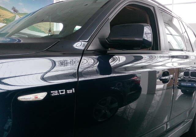 Синий БМВ Х3, объемом двигателя 3 л и пробегом 220 тыс. км за 11000 $, фото 1 на Automoto.ua