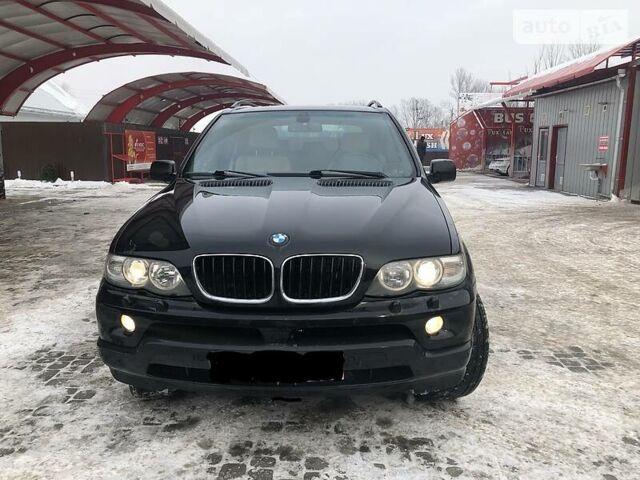 Черный БМВ Х5, объемом двигателя 3 л и пробегом 312 тыс. км за 12500 $, фото 1 на Automoto.ua