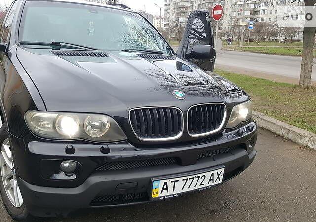 Черный БМВ Х5, объемом двигателя 3 л и пробегом 302 тыс. км за 13700 $, фото 1 на Automoto.ua