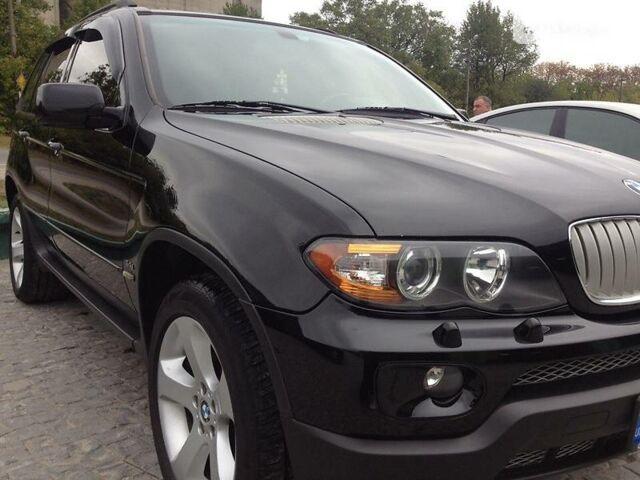 Чорний БМВ Х5, об'ємом двигуна 4.4 л та пробігом 244 тис. км за 15400 $, фото 1 на Automoto.ua