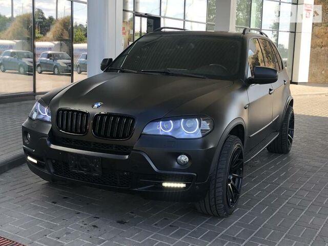 Черный БМВ Х5, объемом двигателя 4.8 л и пробегом 180 тыс. км за 20000 $, фото 1 на Automoto.ua