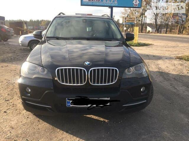 Черный БМВ Х5, объемом двигателя 4.8 л и пробегом 141 тыс. км за 15500 $, фото 1 на Automoto.ua