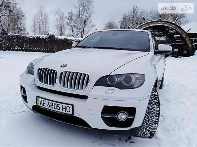 Белый БМВ Х6, объемом двигателя 3 л и пробегом 130 тыс. км за 27000 $, фото 1 на Automoto.ua