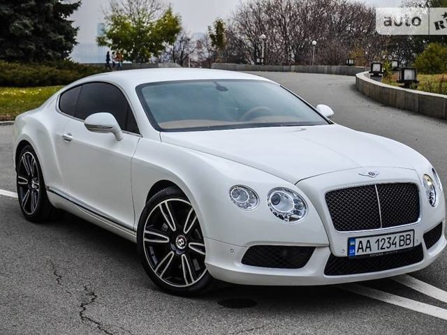 бентли bentley continental gt купе (2012) характеристики