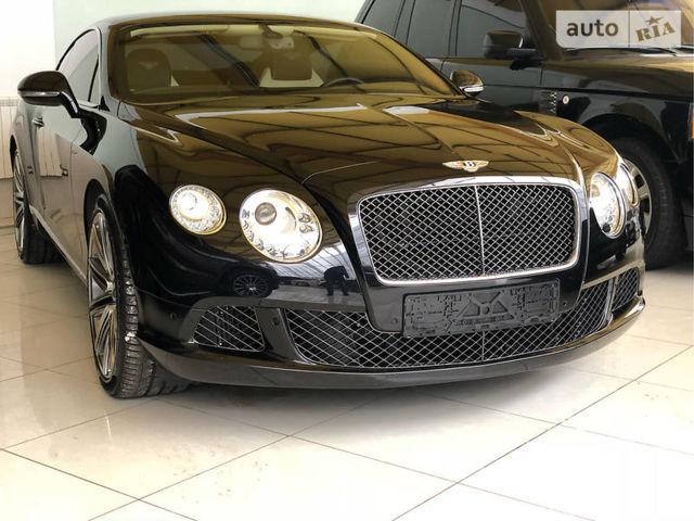Чорний Бентлі Continental GT, об'ємом двигуна 6 л та пробігом 6 тис. км за 157777 $, фото 1 на Automoto.ua