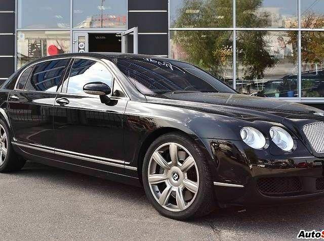 Чорний Бентлі Continental, об'ємом двигуна 6 л та пробігом 87 тис. км за 40000 $, фото 1 на Automoto.ua