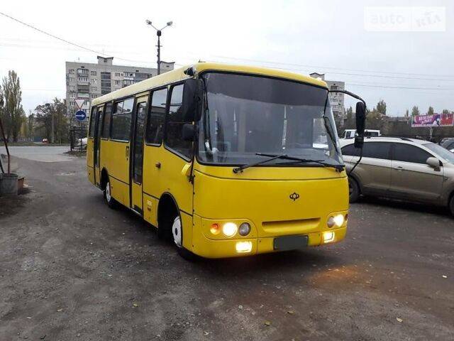 Желтый Богдан А 09201 (Е-1), объемом двигателя 4.6 л и пробегом 150 тыс. км за 7800 $, фото 1 на Automoto.ua