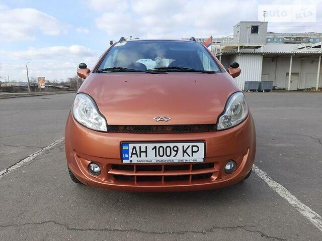 Оранжевый Чери Кимо, объемом двигателя 1.3 л и пробегом 116 тыс. км за 3379 $, фото 1 на Automoto.ua