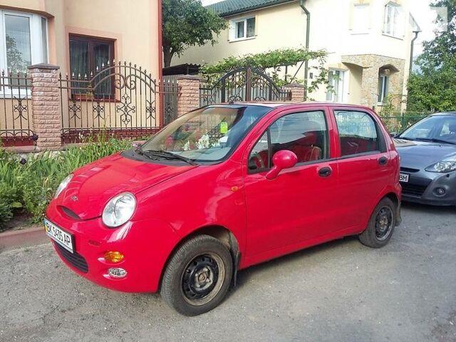 Красный Чери Кью Кью, объемом двигателя 1.1 л и пробегом 79 тыс. км за 3000 $, фото 1 на Automoto.ua