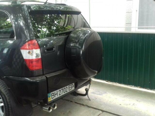 Черный Чери Тигго, объемом двигателя 2 л и пробегом 79 тыс. км за 5500 $, фото 1 на Automoto.ua