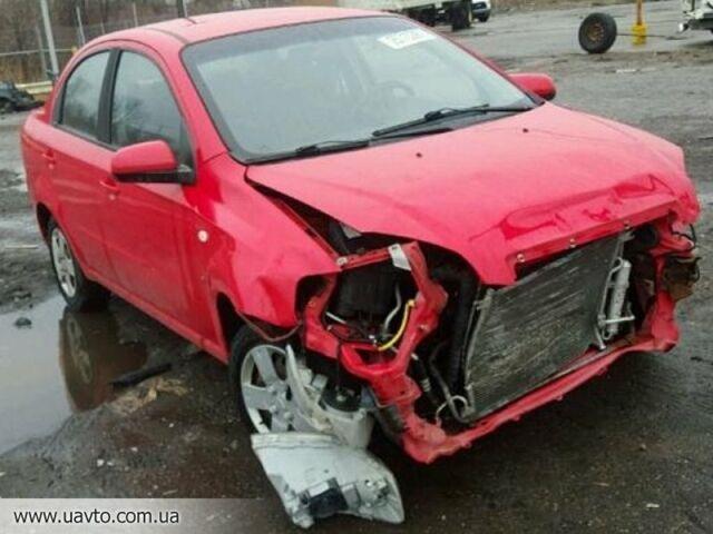 Красный Шевроле Авео, объемом двигателя 1.5 л и пробегом 1 тыс. км за 0 $, фото 1 на Automoto.ua