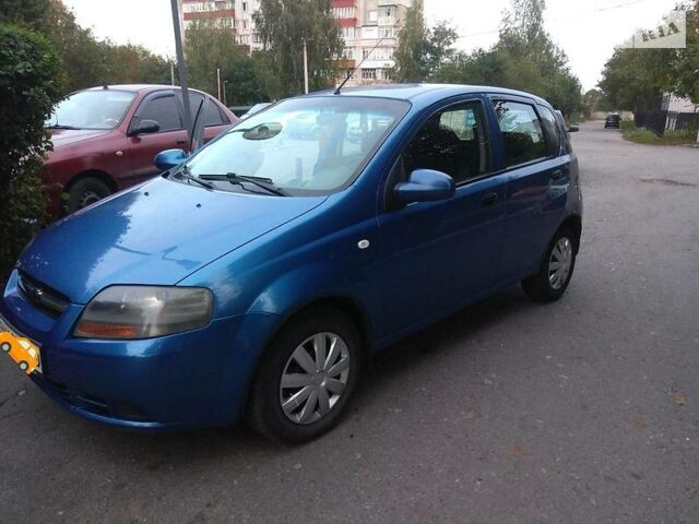 Синий Шевроле Авео, объемом двигателя 1.5 л и пробегом 171 тыс. км за 3950 $, фото 1 на Automoto.ua